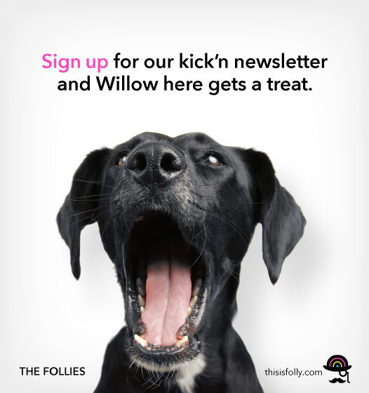 Sign up and Willow gets a treat!