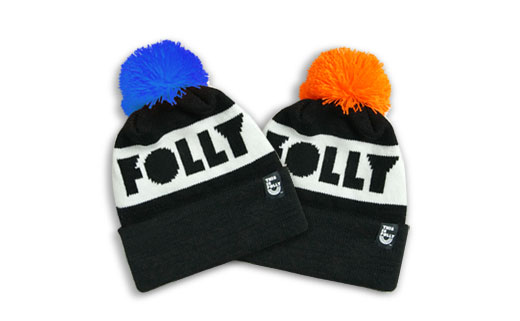 happy folly-days knit hat