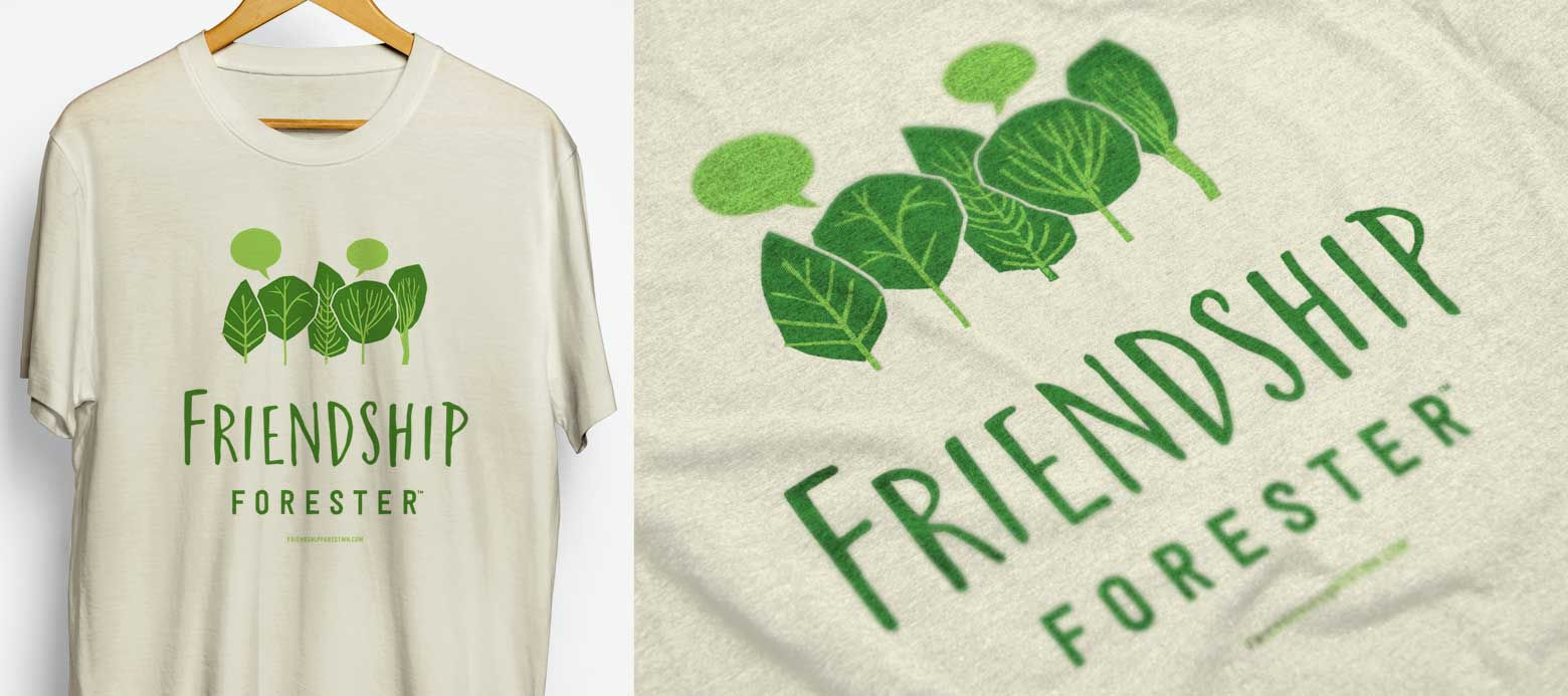 Friendship Forest T-shirts