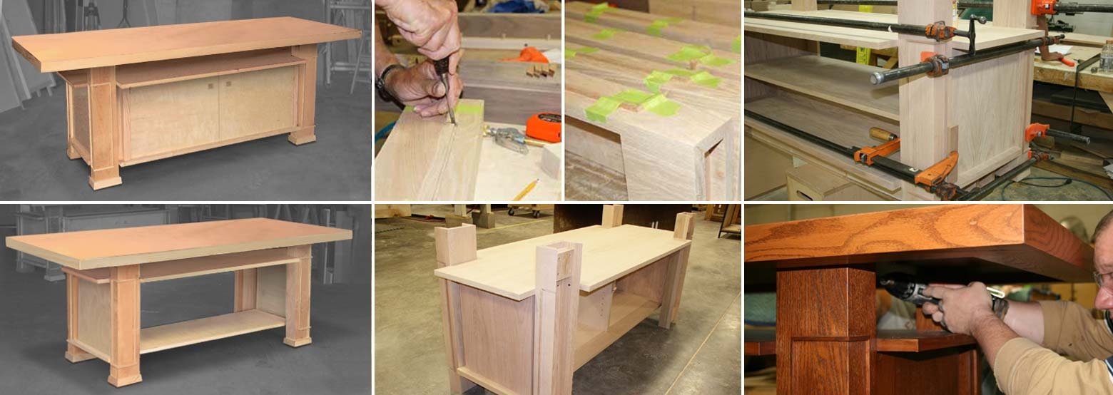 Unity Temple Table Construction