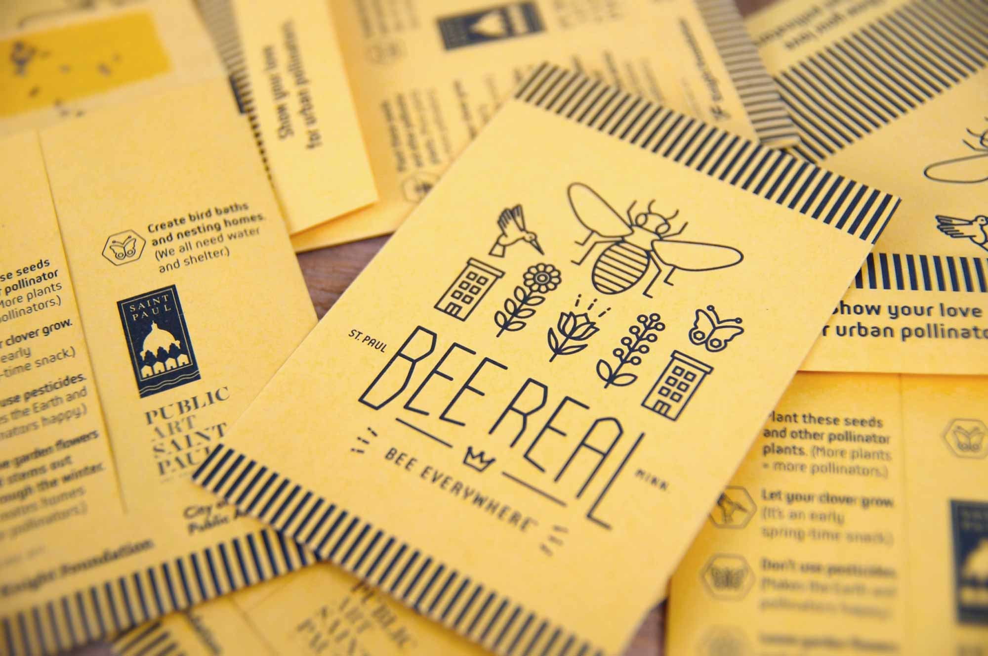 Bee Real Everywhere - Seed Packets