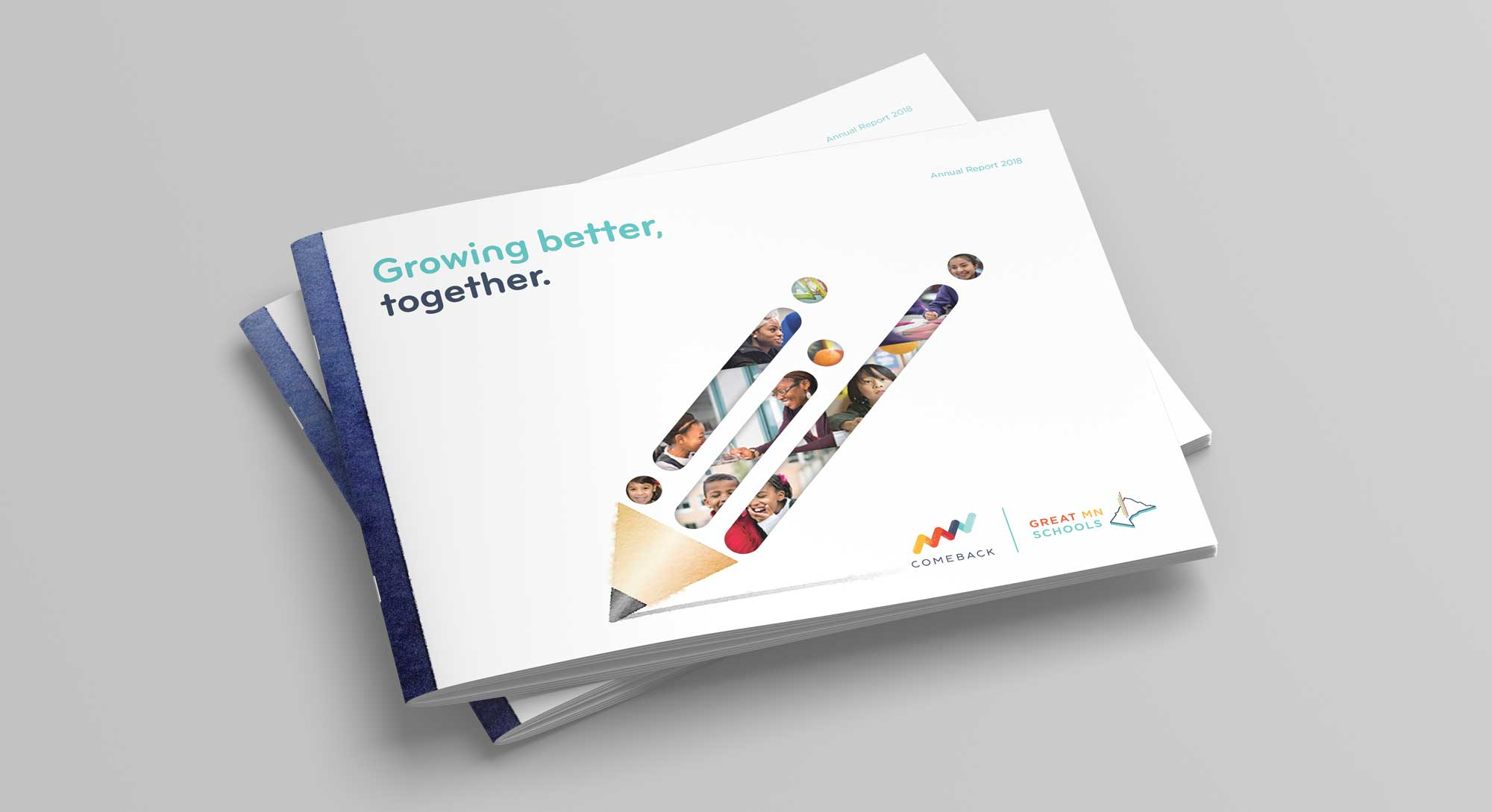 Great Schools 2018 Annual Report Cover