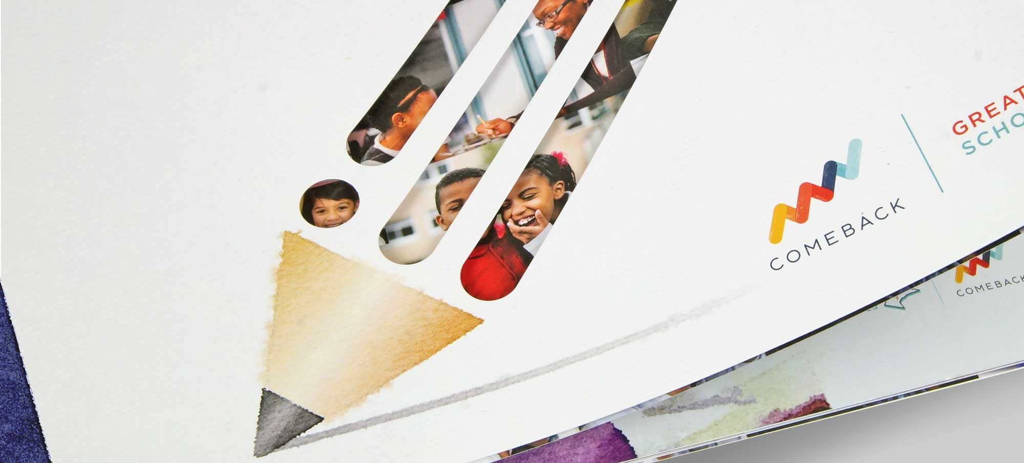 Annual Report Cover Detail