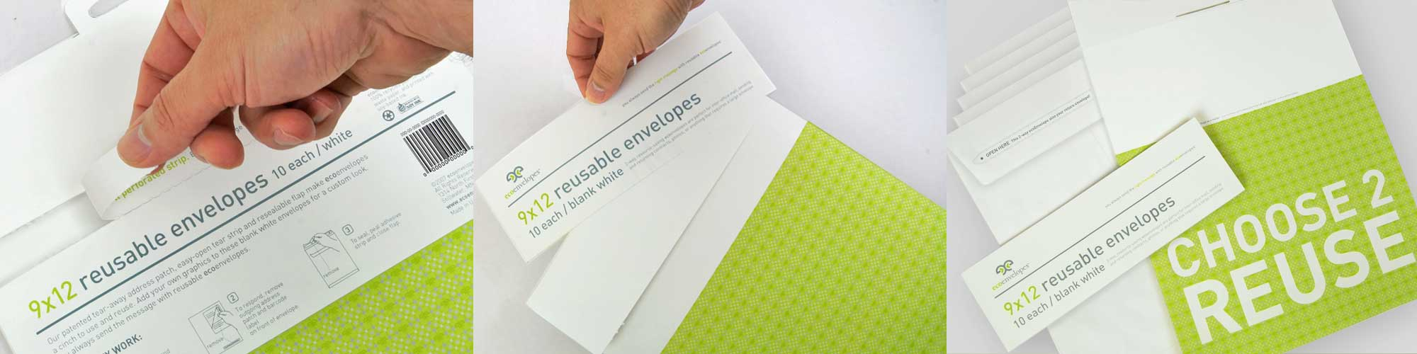 ecoEnvelopes Retail Package