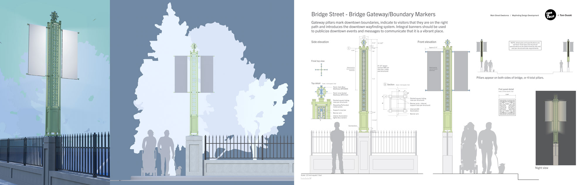 Historic Downtown Owatonna - Bridge Gateway Plan