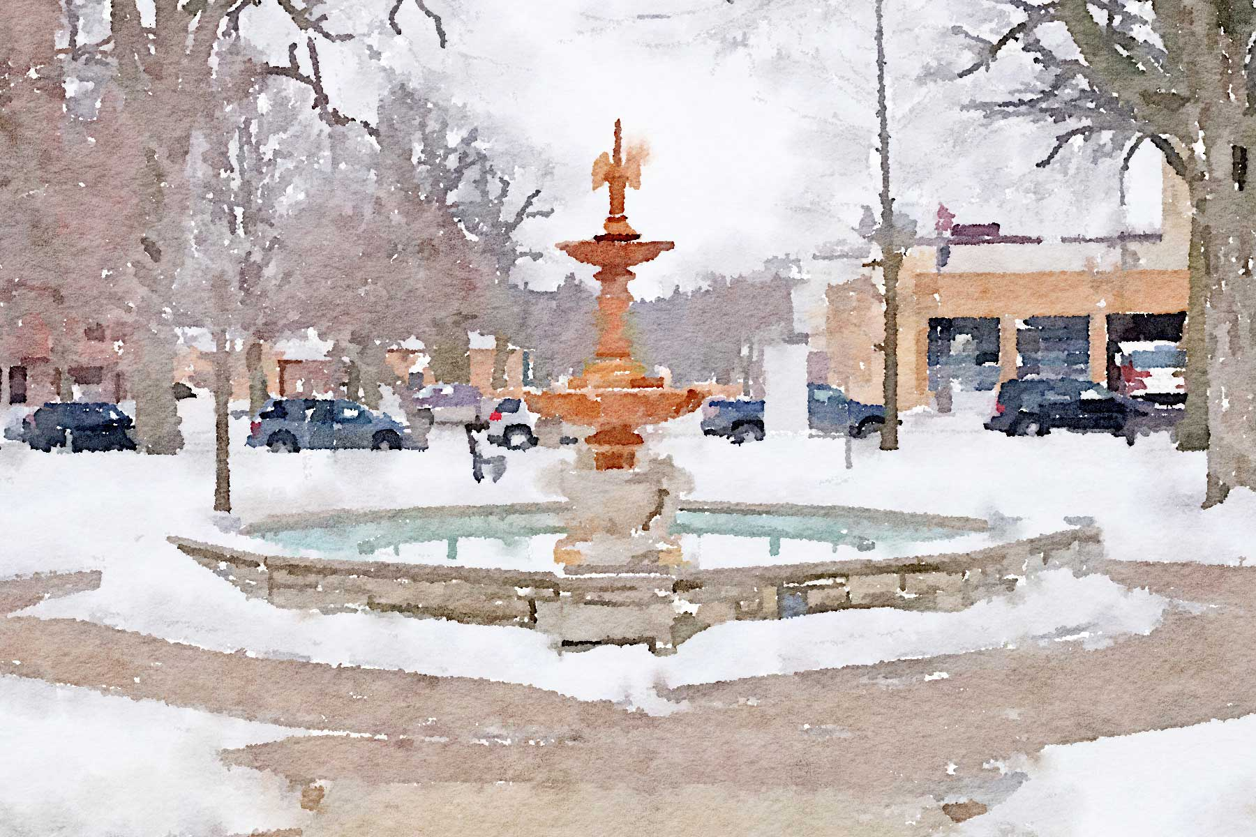 Owatonna - Central Park Fountain